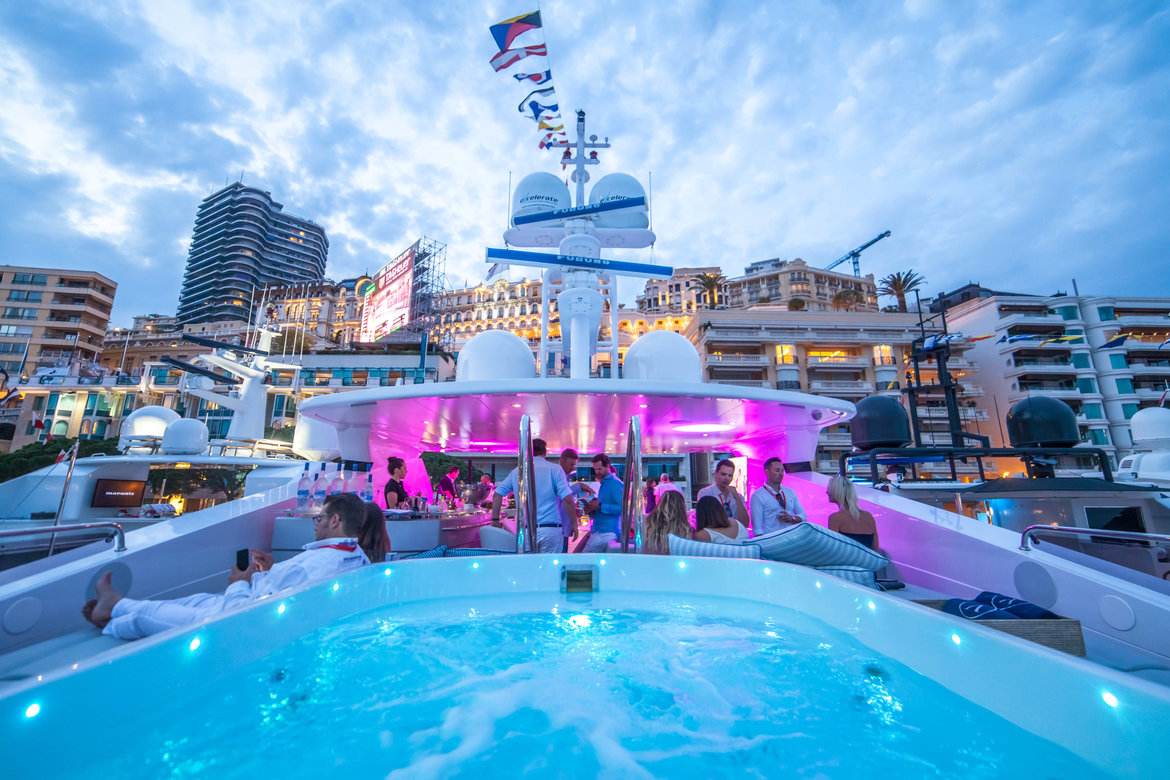 Top 6 destinations for a luxury superyacht party