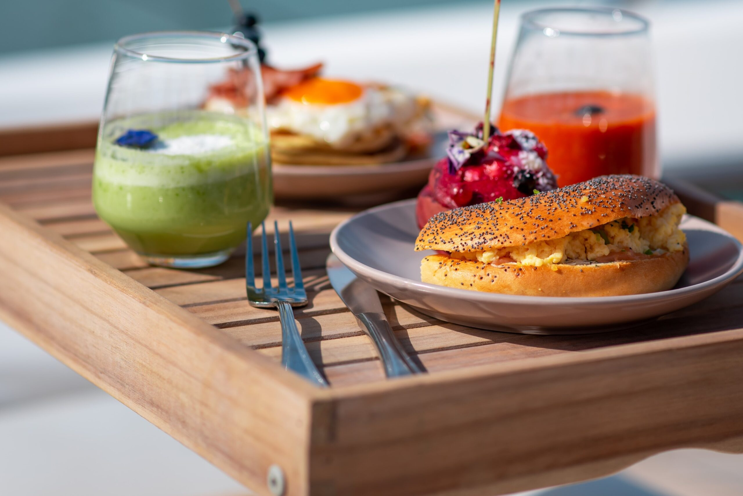 Sundays brunch on board with our signature